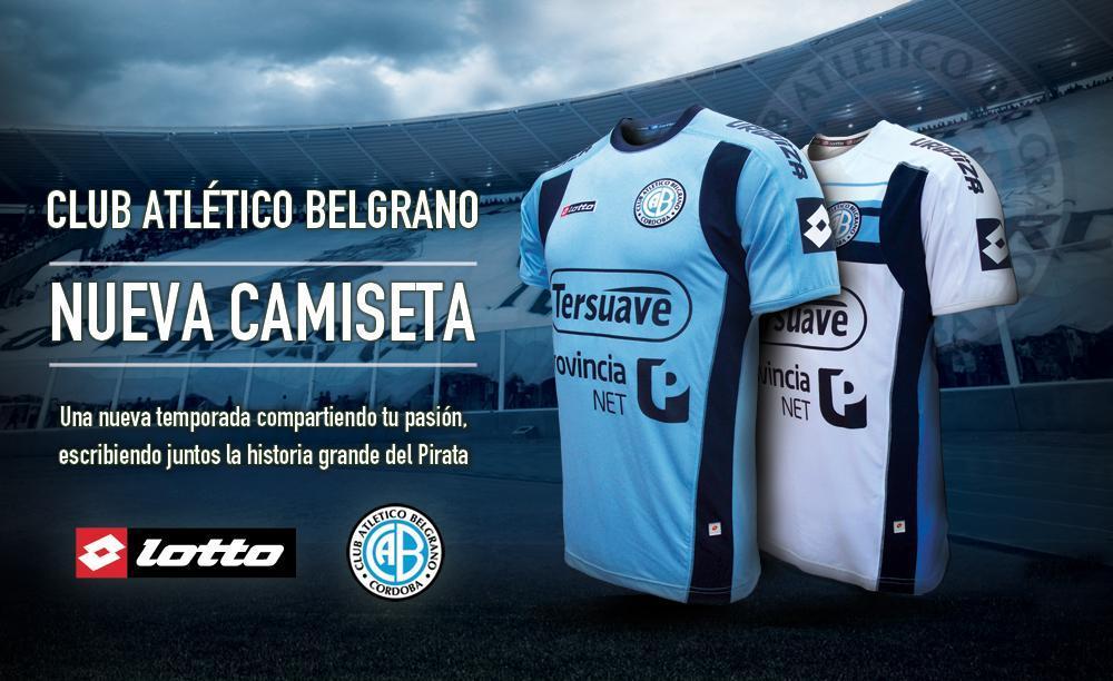 Nuevas camisetas de Belgrano | Foto Twitter Oficial