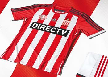 Nueva camiseta titular de Estudiantes | Foto Adidas