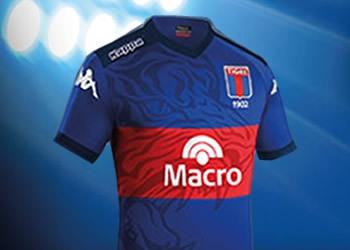 Camiseta titular Kappa de Tigre para 2015 | Foto web oficial
