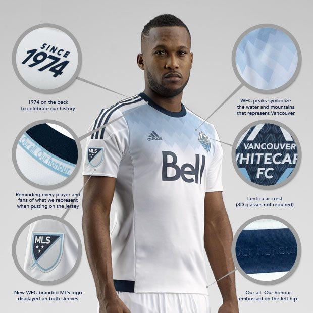 Los detalles de la camiseta | Foto Web Oficial