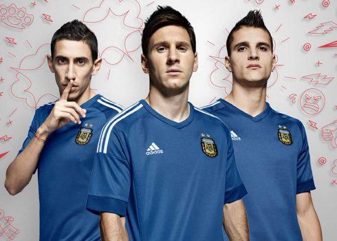 Nueva camiseta suplente de Argentina | Foto Adidas