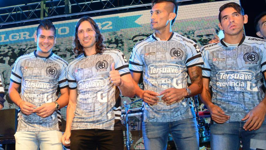 Camiseta especial de Belgrano | Foto Mundo D