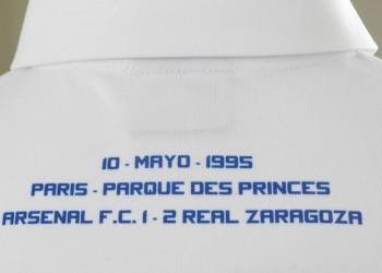 Inscripción de la final de la Recopa de Europa 1995 | Foto Tienda Oficial Zaragoza