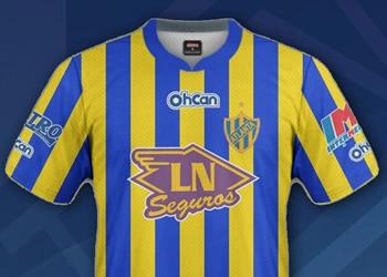 Camiseta titular (izq) y suplente (der) | Imagen Web Oficial