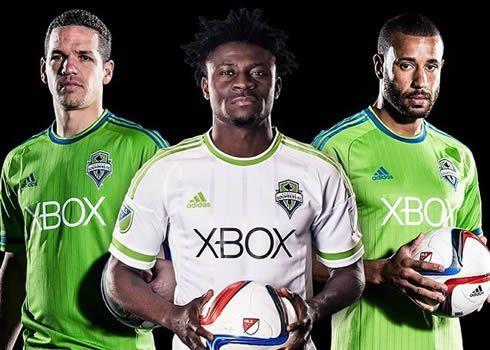 Nuevas camisetas Adidas de Seattle Sounders   Foto web oficial