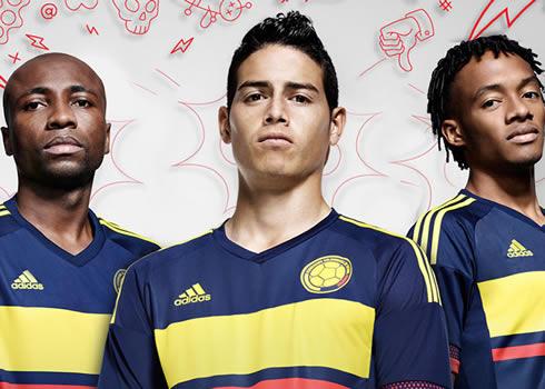 Nueva camiseta de Colombia   Foto Adidas
