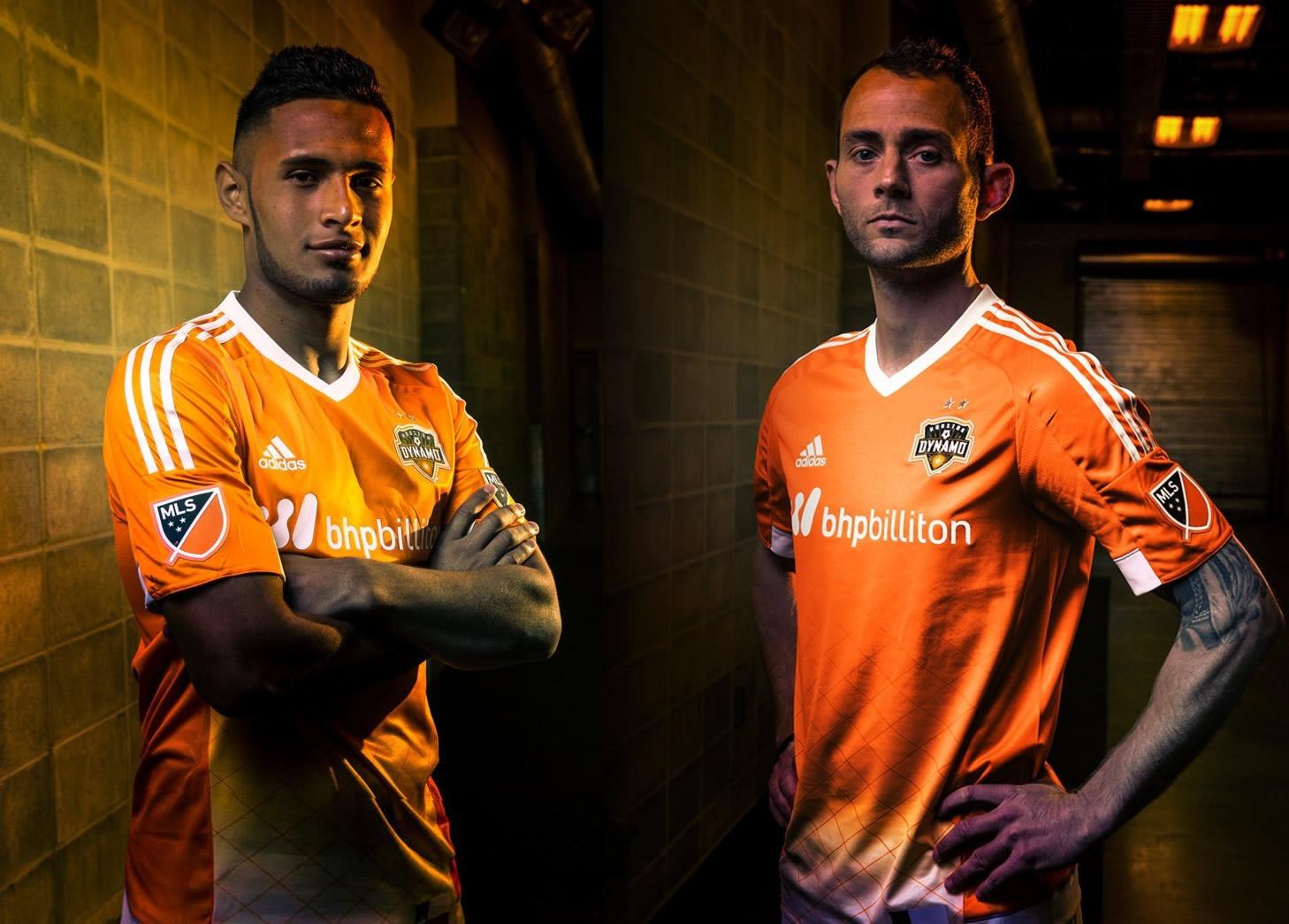 Nueva camiseta de Houston Dynamo | Foto Web Oficial