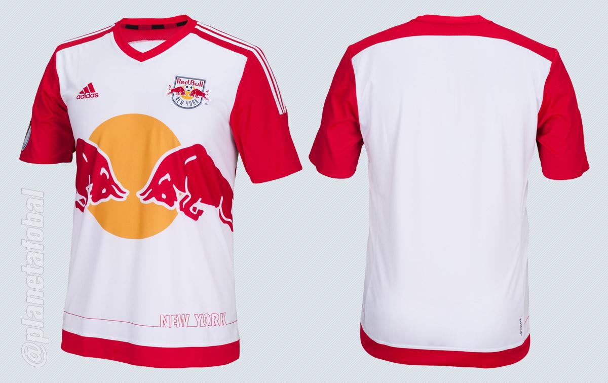 Nueva camiseta titular de New York Red Bulls | Foto Tienda Oficial