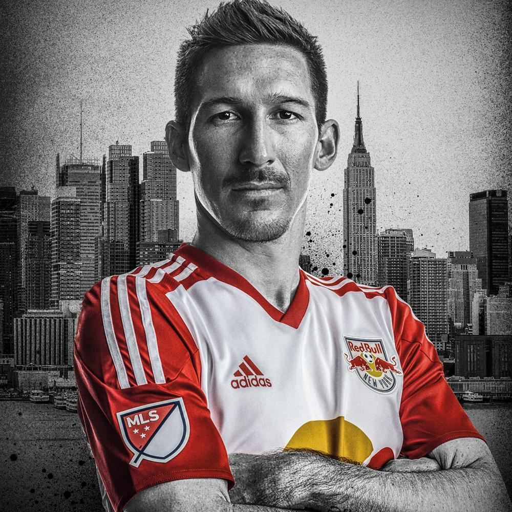 Nueva camiseta titular de New York Red Bulls | Foto Web Oficial