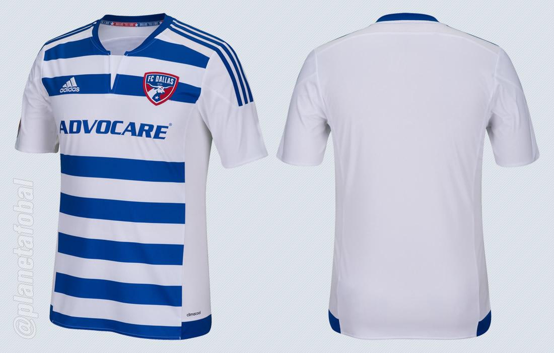 Nueva camiseta Adidas de FC Dallas para 2015 | Foto web oficial