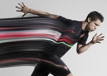 CR7 con la nueva camiseta alternativa de Portugal | Foto Nike