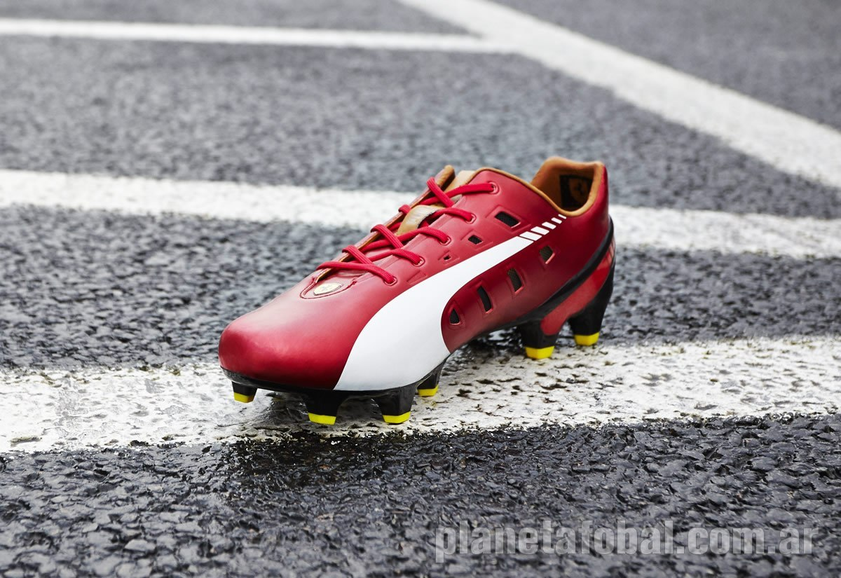 Version Ferrari de los evoSPEED | Foto Puma