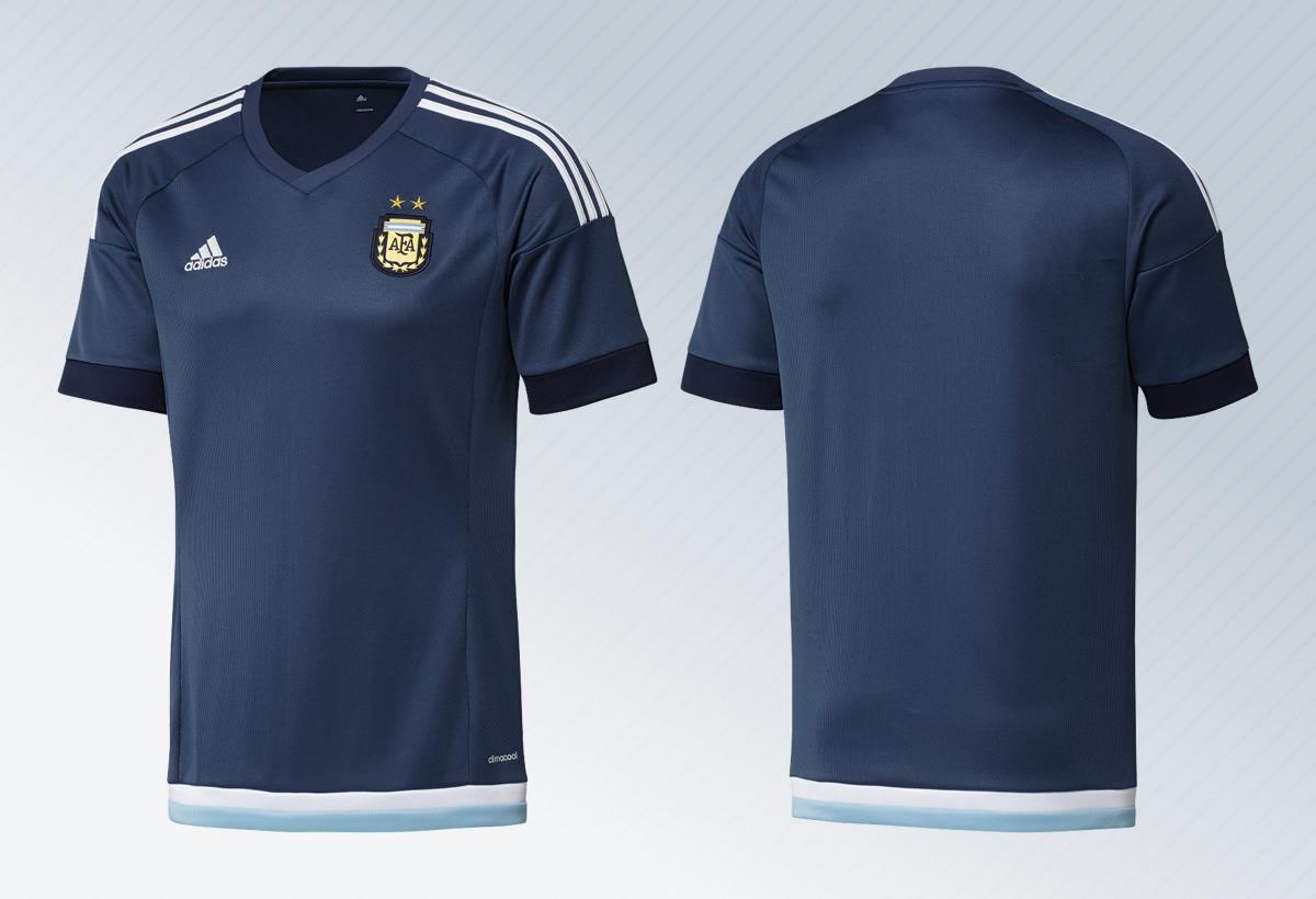 Nueva camiseta suplente de Argentina | Imágenes Adidas