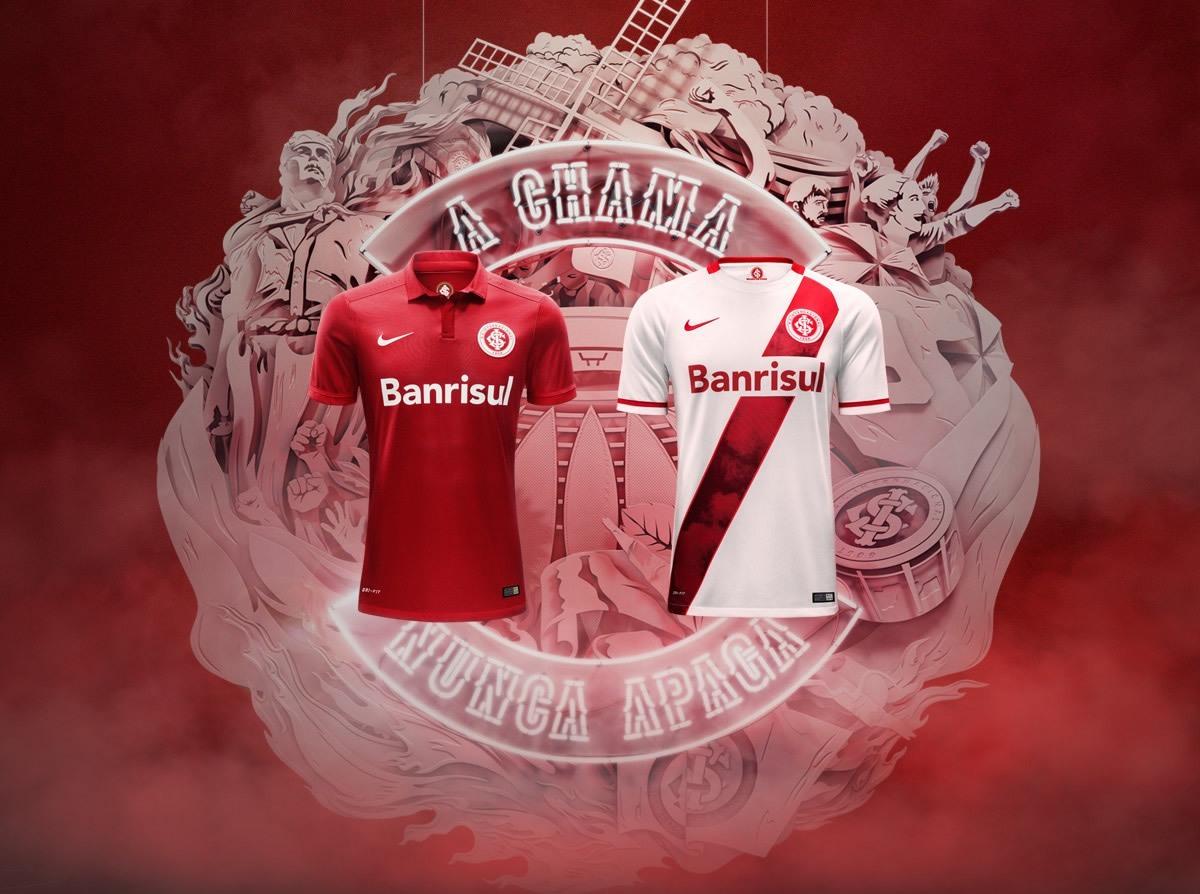 Nuevas camisetas del Inter de Porto Alegre | Foto Nike