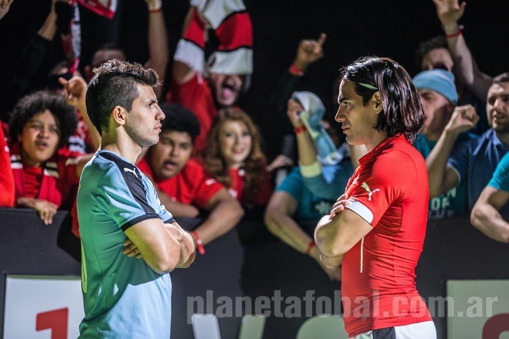 ¿Cuánto mide Radamel Falcao? - Real height Kun-aguero-vs-falcao-headtohead-puma-derby-manchester