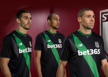 Camiseta suplente del Stoke City | Foto New Balance