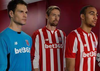 Camiseta titular del Stoke City | Foto New Balance