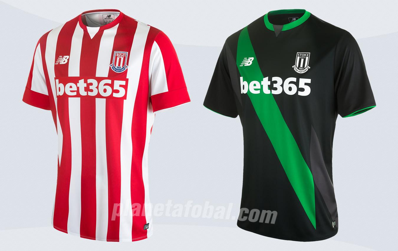 Nuevas camisetas del Stoke City | Imágenes Web Oficial