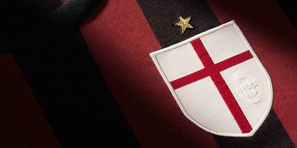 Al detalle la camiseta del AC Milán | Foto Adidas