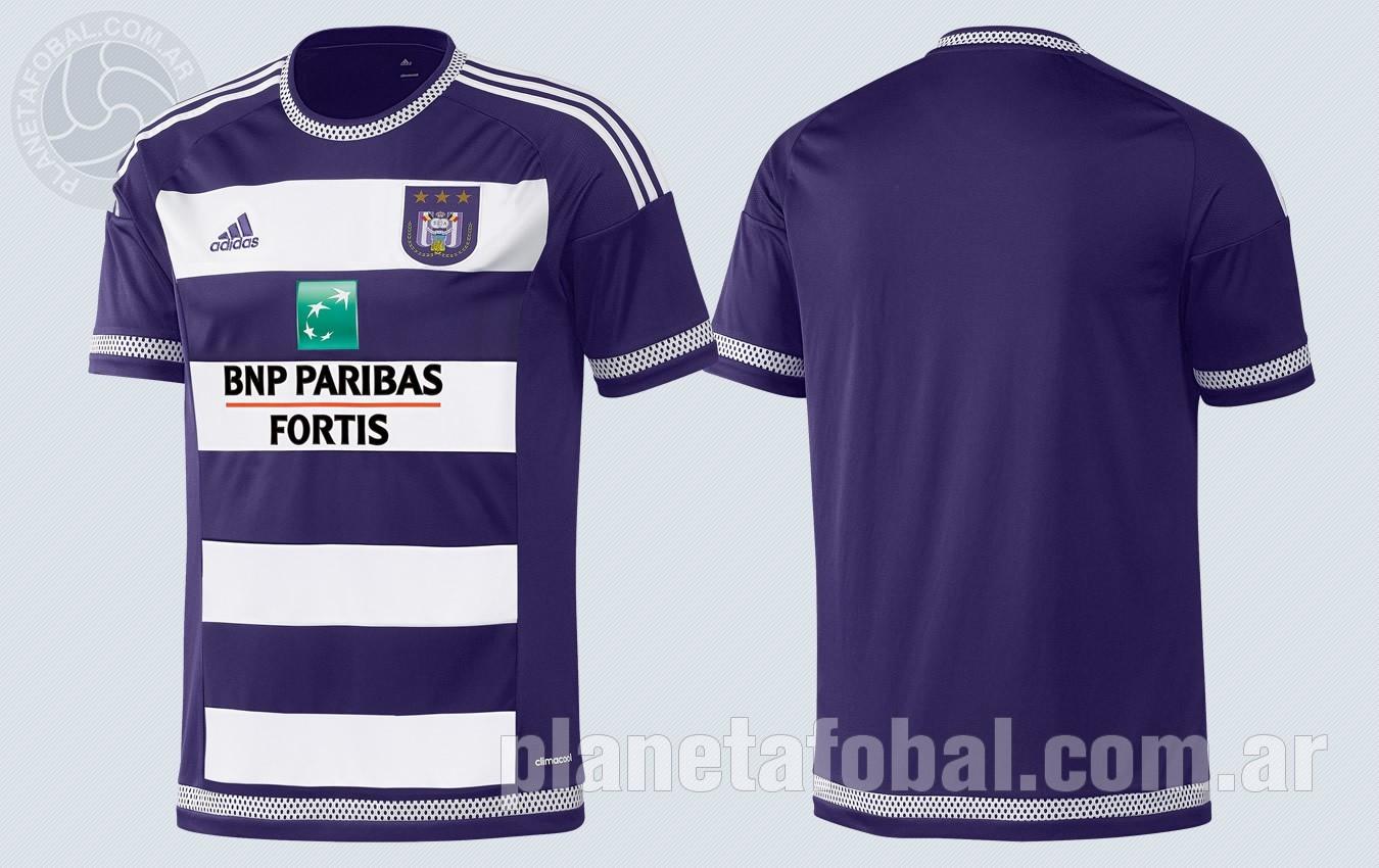 Nueva camiseta titular del Anderlecht | Imágenes Web Oficial