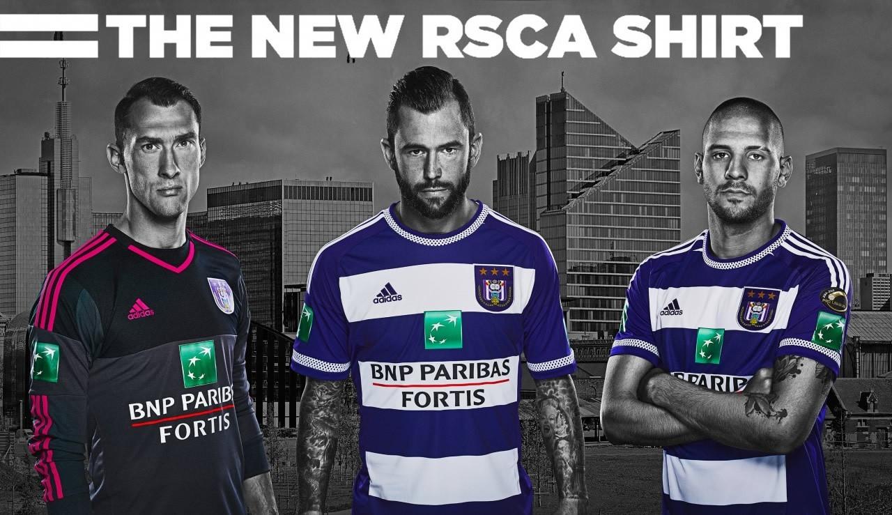 Nueva camiseta titular del Anderlecht | Foto Web Oficial