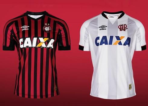 Nuevas camisetas de Atlético Paranense | Foto Umbro