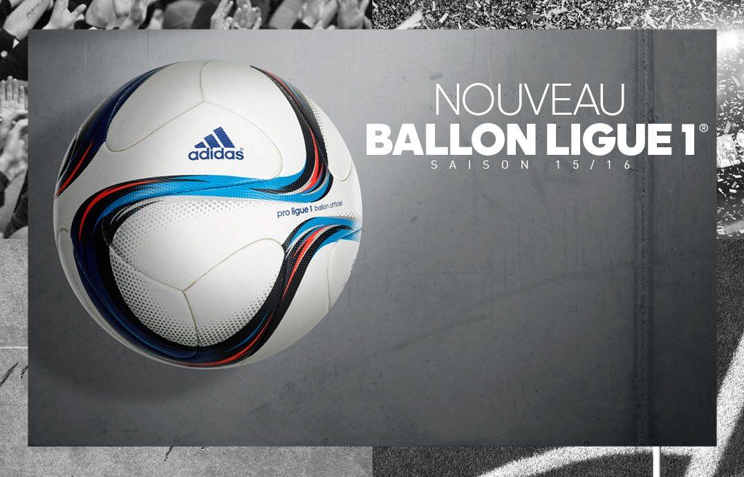 Nuevo balón para la Ligue 1 2015/2016 | Foto LFP