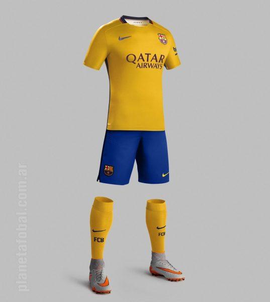 Asi luce el conjunto del Barcelona | Foto Nike