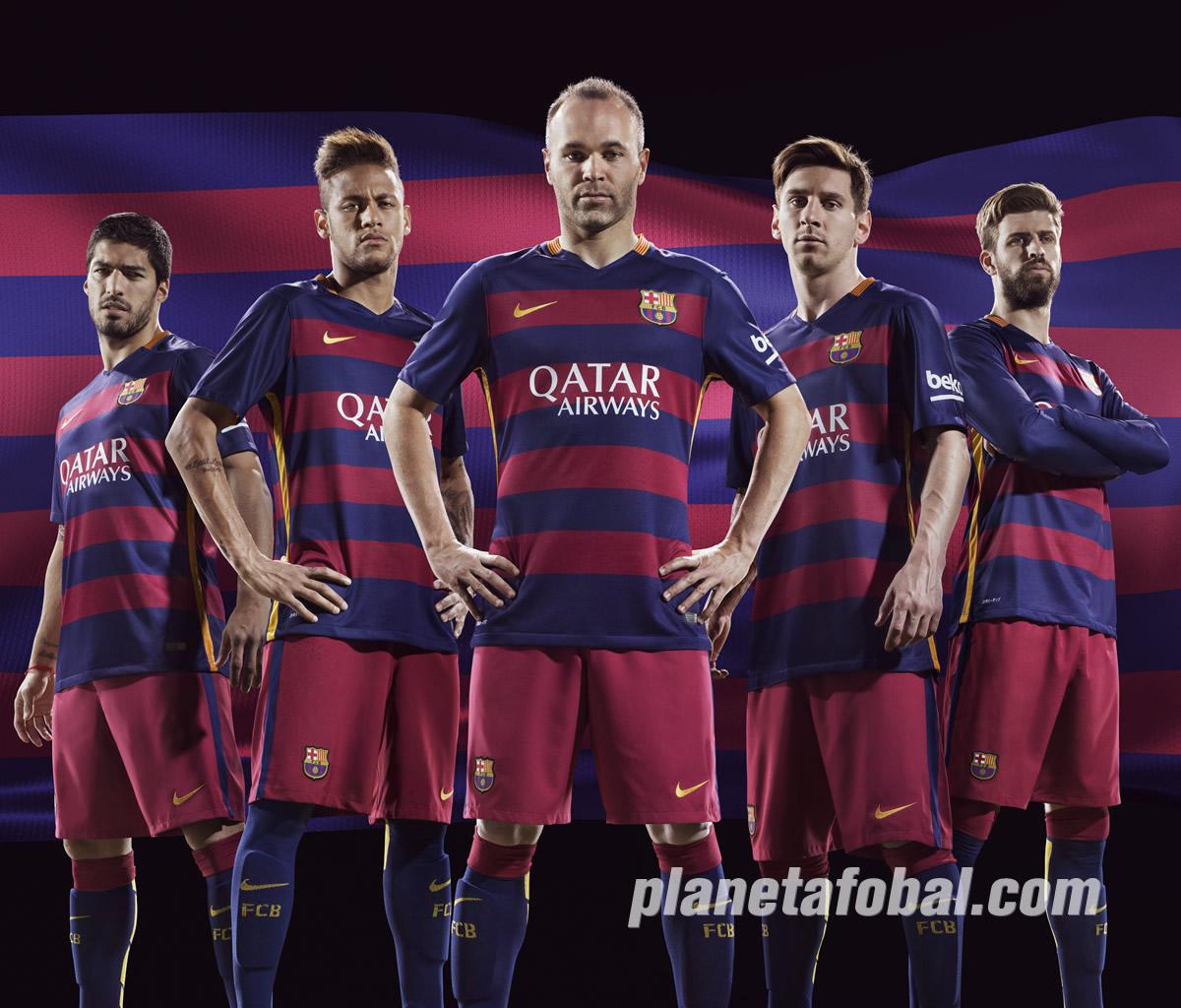 Los jugadores con la nueva camiseta | Foto Nike