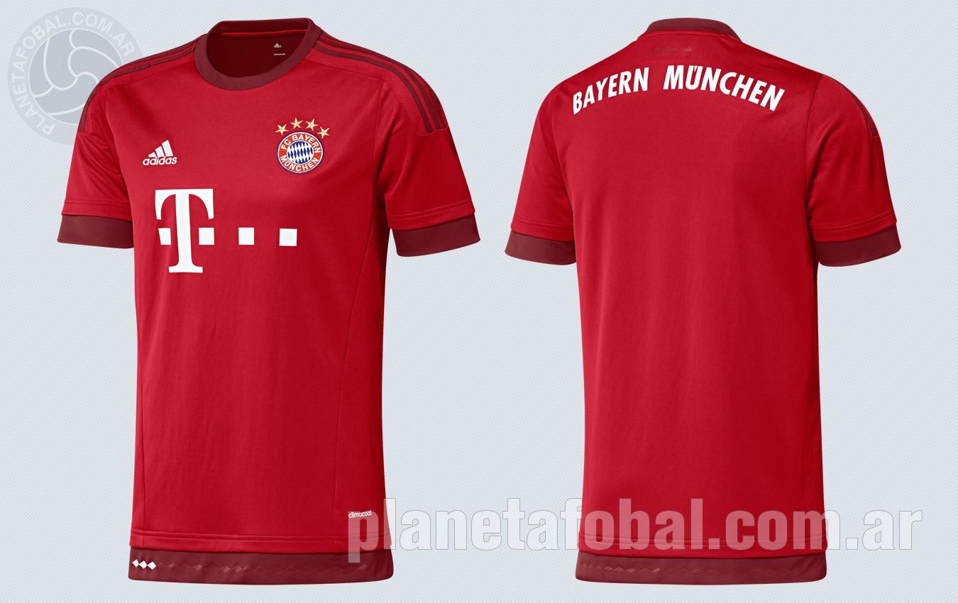 Nueva camiseta del Bayern Munich | Imágenes Web Oficial