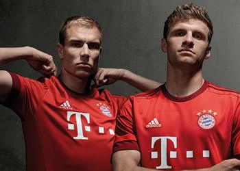 Nueva camiseta del Bayern Munich | Foto Web Oficial