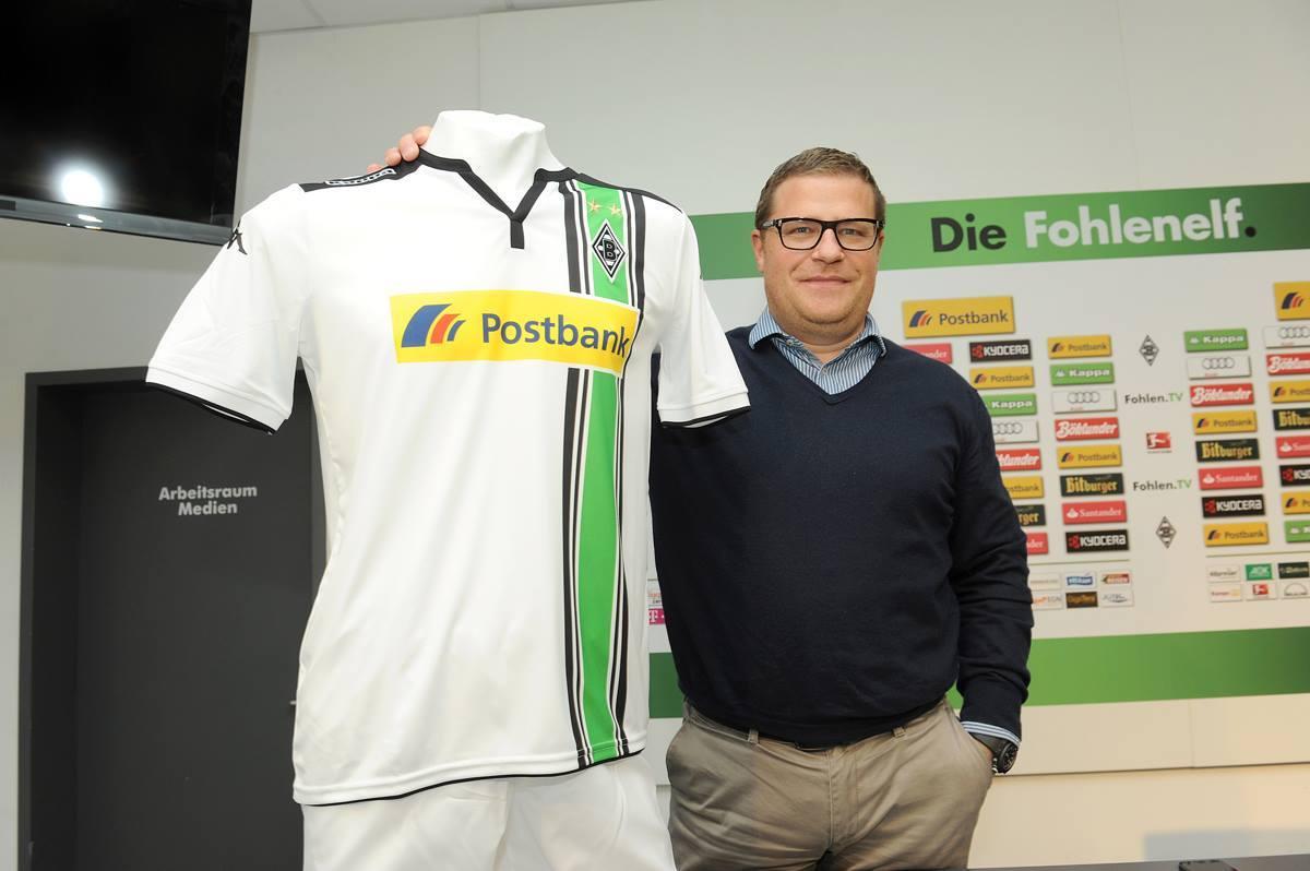 Nueva camiseta del Borussia Mönchengladbach   Foto Kappa