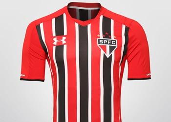 Camiseta suplente del São Paulo | Foto Web Oficial