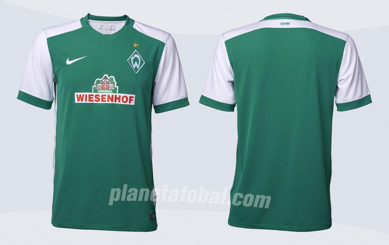Así luce la nueva camiseta titular de Werder Bremen | Foto web oficial