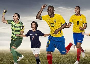Nuevas camisetas de Ecuador para la Copa América | Foto Marathon Sports