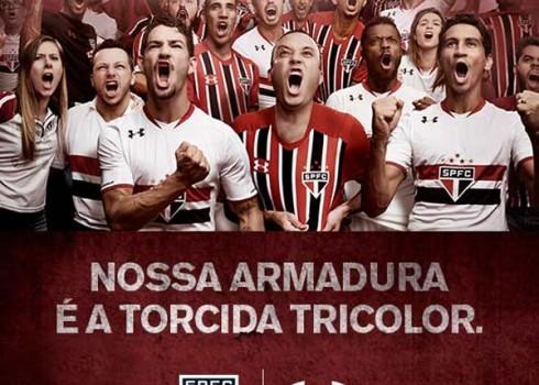 Nuevas camisetas del São Paulo | Foto Web Oficial
