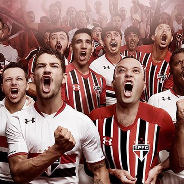 Nuevas camisetas del São Paulo   Foto Web Oficial