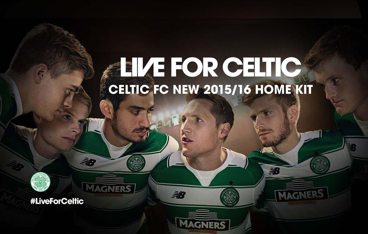 Nueva camiseta del Celtic | Foto New Balance