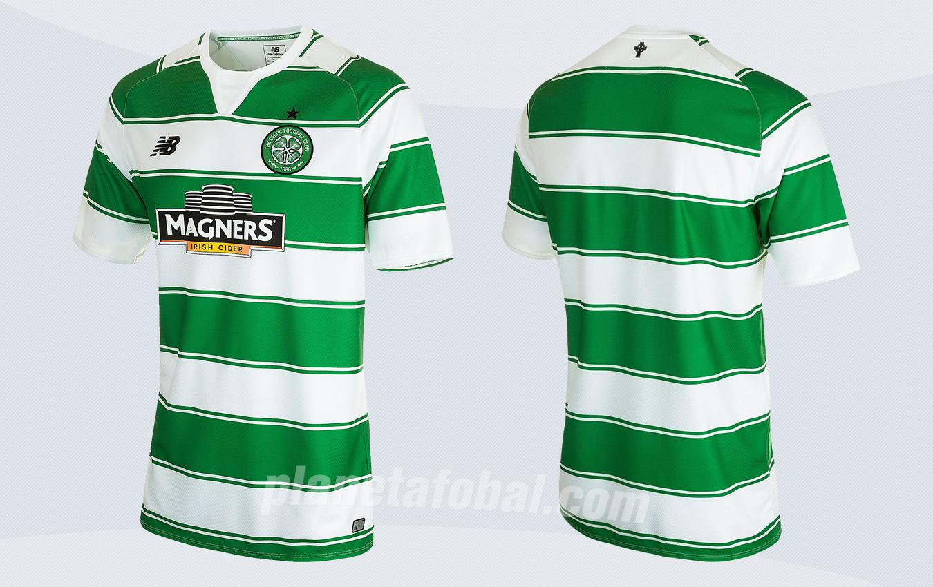 Nueva camiseta del Celtic | Imágenes Web Oficial