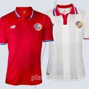 Nuevas camisetas de Costa Rica   Imágenes New Balance