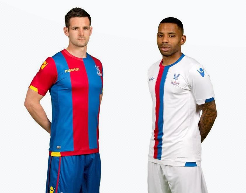 Las dos camisetas del Crystal Palace | Foto Web Oficial