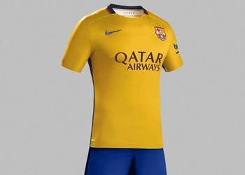 Camiseta suplente del FC Barcelona | Foto Nike