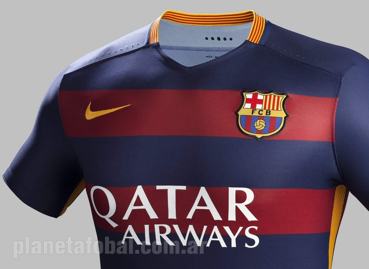 Camiseta titular Nike del Barcelona 2015 16 70ada1c981dbd