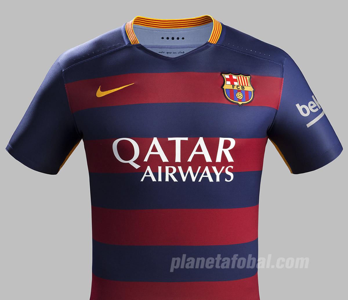 Nueva camiseta titular del Barcelona | Foto Nik