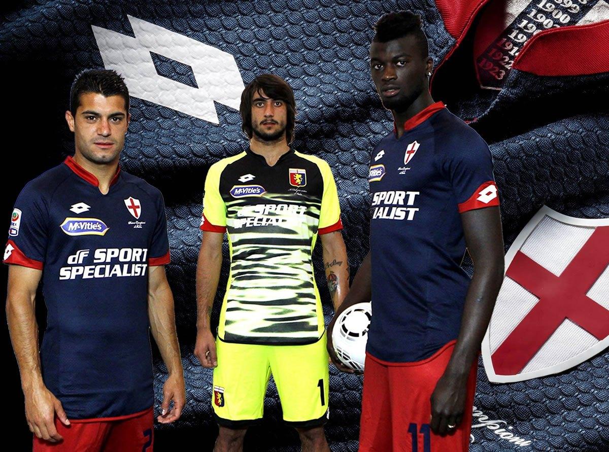 Nueva camiseta del Genoa | Foto Web Oficial