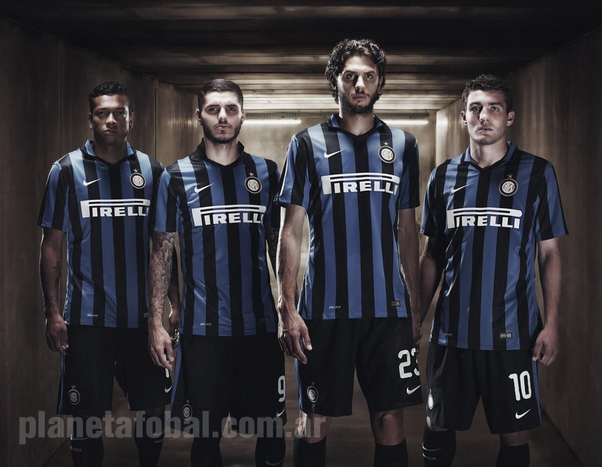 Nueva camiseta del Inter | Foto Nike