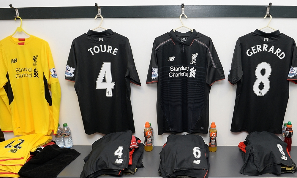 Tercera casaca del Liverpool | Foto Web Oficial