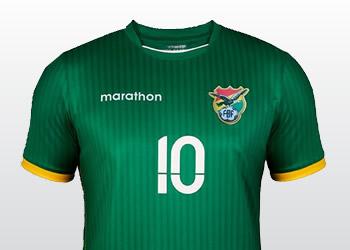 Nuevas camisetas de Bolivia | Imágenes Marathon Sports