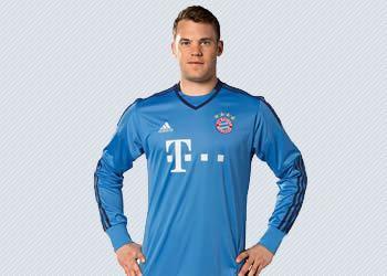 Neuer con su nueva casaca | Foto Web Oficial