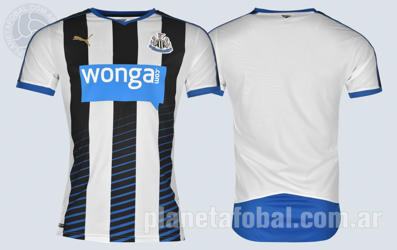 Nueva casaca del Newcastle | Imagenes Web Oficial